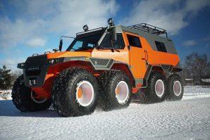 "Avtoros Šaman – 8×8 vozilo za sve terene, jedina ""mana"" je što ne leti [Galerija i Video]"
