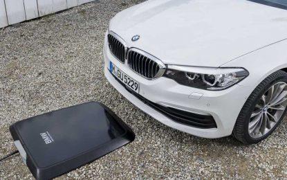 BMW Wireless Charging – najava sistema bežičnog punjenja za BMW 530e [Galerija i Video]
