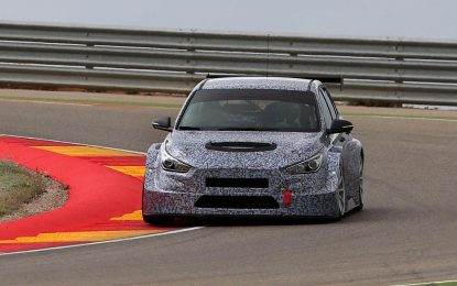 Hyundai i30 TCR – testovi u Španiji