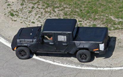Jeep Wrangler Pickup Truck – testovi u toku!