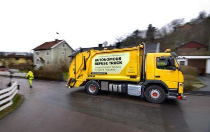 Volvo Trucks i Renova testiraju autonomni kamion za prikupljanje otpada [Video]
