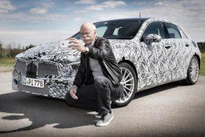 Mercedes-Benz A-klasa – teaser kao nikada do sada