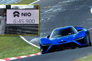 Nio EP9 postavio novi rekord na Nürburgringu