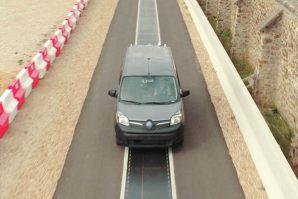 Renault sa modelom Kangoo Z.E. demonstrirao dinamičko bežično punjenje – punjenje baterija dok je vozilo u pokretu