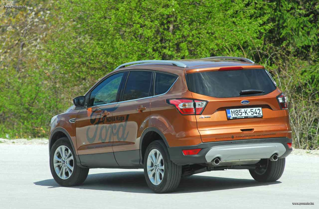 proauto test ford kuga titanium 2 0 tdci awd a6 150. Black Bedroom Furniture Sets. Home Design Ideas