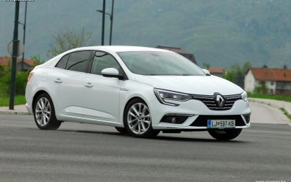 TEST – Renault Megane GrandCoupe Intens Energy dCi 110