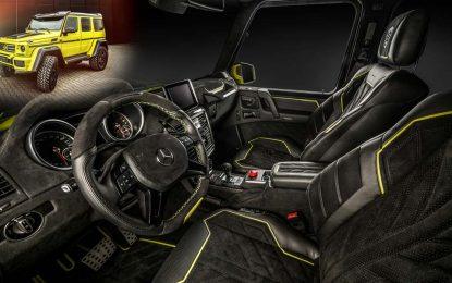 Carlex Design pripremio jedinstvenu luksuznu preradu unutrašnjosti brutalnog Brabusa G500 4×4² [Galerija]