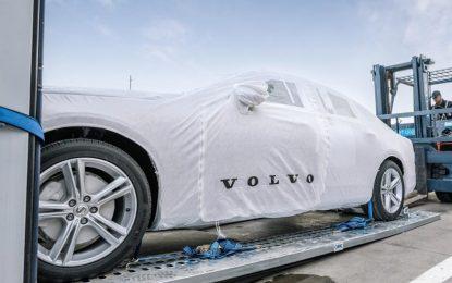 Isporuka modela Volvo S90 iz Kine u Evropu kopnenim putem – željeznicom