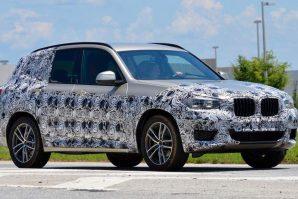 BMW X3 još uvijek pod kamuflažom
