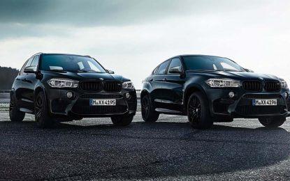 Posebno izdanje – BMW X5 M i BMW X6 M Edition Black Fire [Galerija]