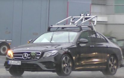 Prototip autonomnog Mercedes-Benza E-Class [Video]