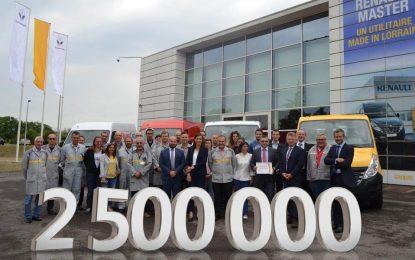 Renault proizveo 2,5 miliona lakih komercijalnih vozila u tvornici Batilly