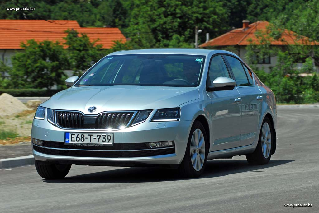 proauto test koda octavia style 2 0 tdi 150 ks 6mt a7 fl. Black Bedroom Furniture Sets. Home Design Ideas