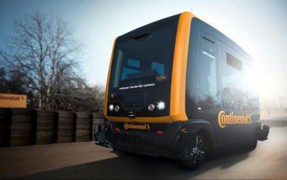 Autonomno konceptno vozilo Continental CUbE mogao bi biti taksi budućnosti [Video]