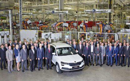 Započela serijska proizvodnja novog kompaktnog SUV-a Škoda Karoq