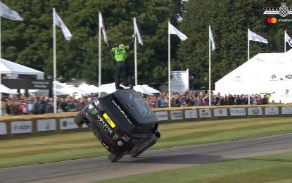 Egzibicije sa 550 KS snažnim Range Roverom Sportom SVR na Goodwoodu [Galerija i Video]