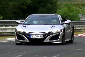 Acura NSX – testiranje novih senzora na Nürburgringu [Video]