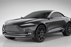 Aston Martin DBX u proizvodnju 2019. [Galerija]