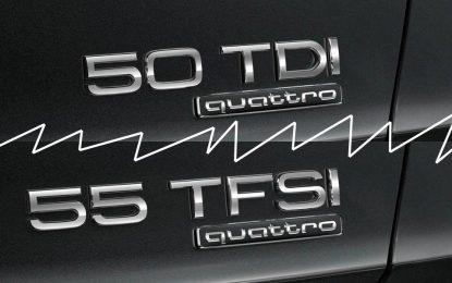 Audi uvodi novu nomenklaturu