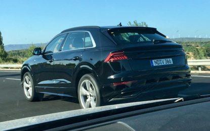 Audi Q8 još uvijek u testnoj fazi
