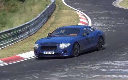 Novi Bentley Continental GT snimljen tokom testiranja na Nürburgringu [Video]