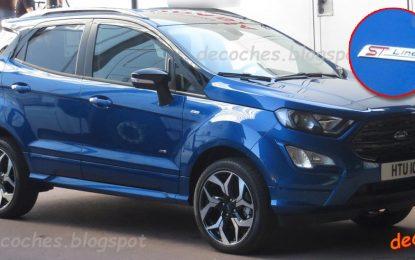 Ford EcoSport ST-Line – u Španiji bez kamuflaže