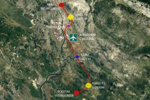 Pogledajte detaljan prikaz dionice autoputa Mostar Jug – Buna na Koridoru 5C [Video]
