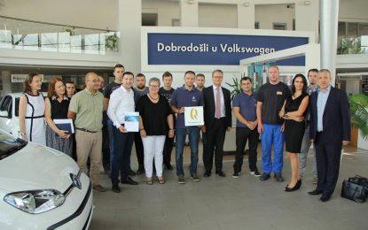 Volkswagenovi servisi u BiH ponovo među najboljih 100 evropskih servisa