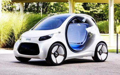 Upoznajte se sa Smartovom vizijom buduće urbane mobilnosti – Smart Vision EQ ForTwo Concept [Galerija i Video]