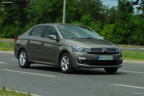 TEST – Citroen C-Elysee Fl Shine 1.6 BlueHDi 100 BVM