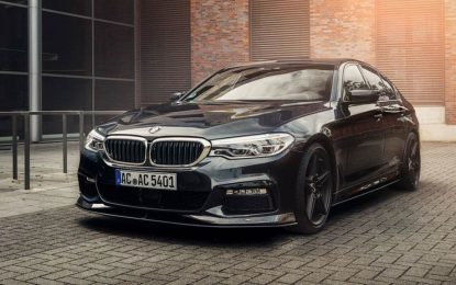 BMW serije 5, i sedan i karavan, na preradama kod AC Schnitzera [Galerija i Video]