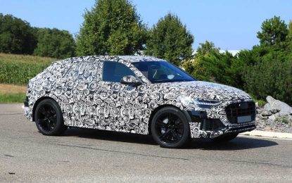 Audi SQ8 – možda je hibrid?