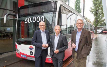 Dvostruki jubilej za autobus Mercedes-Benz Citaro