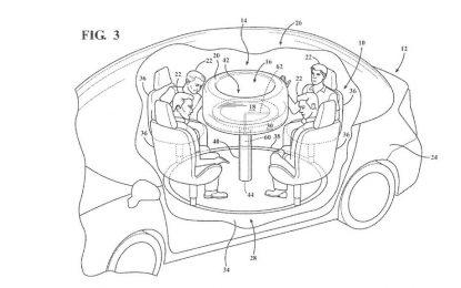 Ford patentirao sklopivi stolić za autonomna vozila