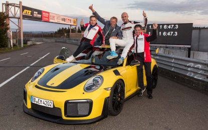 Novi rekord Nürburgringa: Porsche 911 GT2 RS za 6 minuta, 47 sekundi i 3 desetinke [Galerija i Video]
