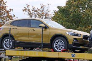 BMW X2 snimljen gotovo bez kamuflaže
