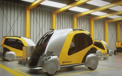 Autonomno električno vozilo budućnosti Continental Bee Concept [Video]