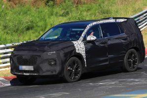 Novi Hyundai Santa Fe testira se na Nürburgringu [Galerija i Video]