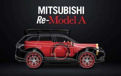 Za stogodišnjicu brenda stiže Mitsubishi Model A kao Plug-In Hybrid [Galerija i Video]