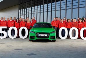 Proizvedeno pola miliona Audija TT u Mađarskoj