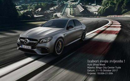 Na Auto Show Weeku u Tuzli nastupaju Mercedesove najsjajnije zvijezde