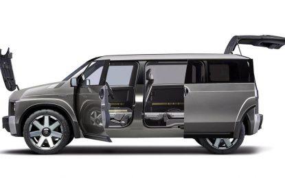 Univerzalna kombinacija – Toyota Tj Cruiser Concept – pola Van, pola SUV [Galerija]