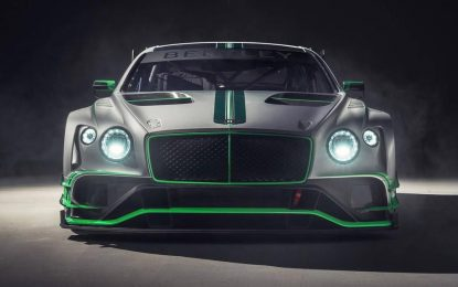 Predstavljena trkačka verzija Bentleya Continentala GT – Bentley Continental GT3