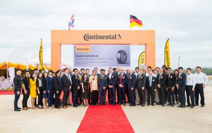 Continental položio kamen temeljac za novu tvornicu guma u Thailandu [Galerija]