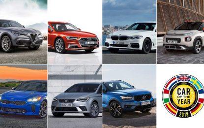 """Od 37 predloženih odabrano sedam finalista za izbor """"Evropski automobil godine 2018"""""""