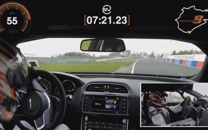 Novi rekord na Nürburgringu: Jaguar XE SV Project 8 brži od Alfe Romeo Giulije Quadriofoglio [Video]