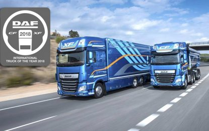"DAF XF/CF ponio titulu ""International Truck of the Year 2018"" [Video]"