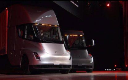 Revolucija u cestovnom transportu – Električni tegljač Tesla Semi sa boljim otporom zraka od većine sportskih automobila [Galerija i Video]