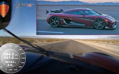 Koenigsegg Agera RS – zvanično najbrži cestovni automobil [Video]