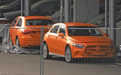 Novi Mercedes-Benz A-Class i A-Class Sedan bez kamuflaže